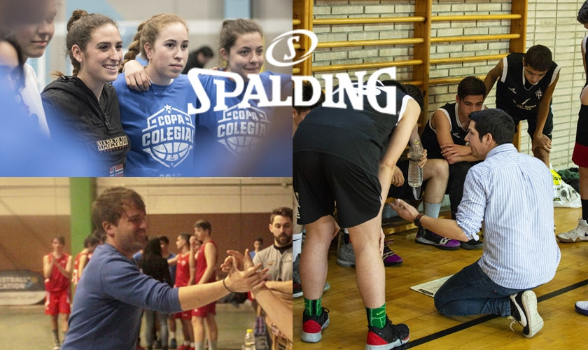 Spalding nos trae a los Mejores Entrenadores de la Copa Colegial Zaragoza