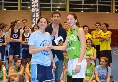 MVPS: Irene Jimenez y Sofía Alvarez.