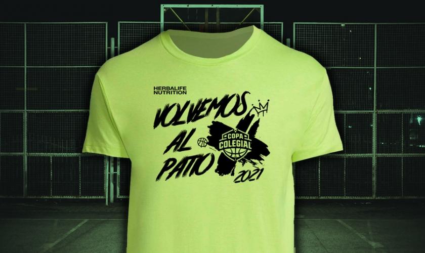 Te presentamos la camiseta oficial de la Copa Colegial 2021. ¡Esto empieza ya!