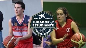 Teresa Armengol y Álvaro Godoy, los mejores jugadores-estudiantes de Sevilla