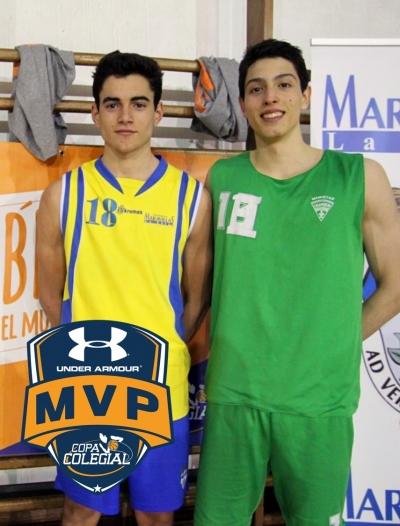 Alonso y Rodríguez; Mejores Jugadores
