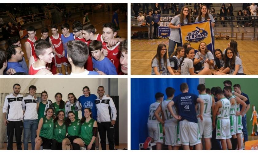 Todos los campeones históricos de la Copa Colegial en A Coruña