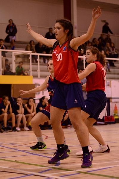 Teresa Aneiros, jugadora dominante