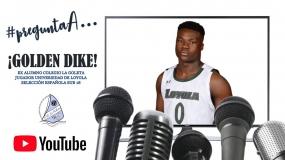 Un clásico de la Copa habla con un NCAA: La Goleta pregunta a su ex alumno Golden Dike (VÍDEO)