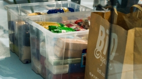 Un gran gesto: recaudación de comida solidaria durante la Precopa