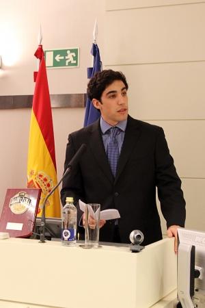 Edu Vidal durante su intervención