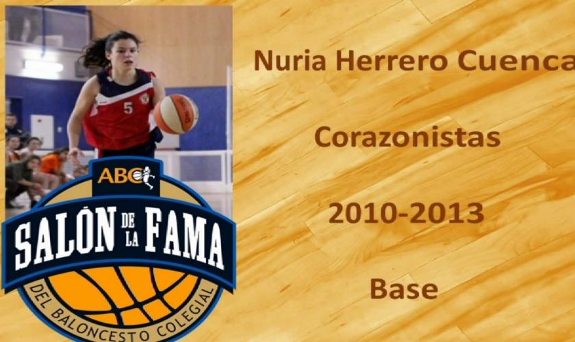 Un homenaje ejemplar: así fue la entrada, en 2017, de Nuria Herrero en el Salón de la Fama de Madrid