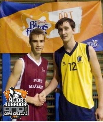 Adrián González y Alvaro Sampedro MVPs
