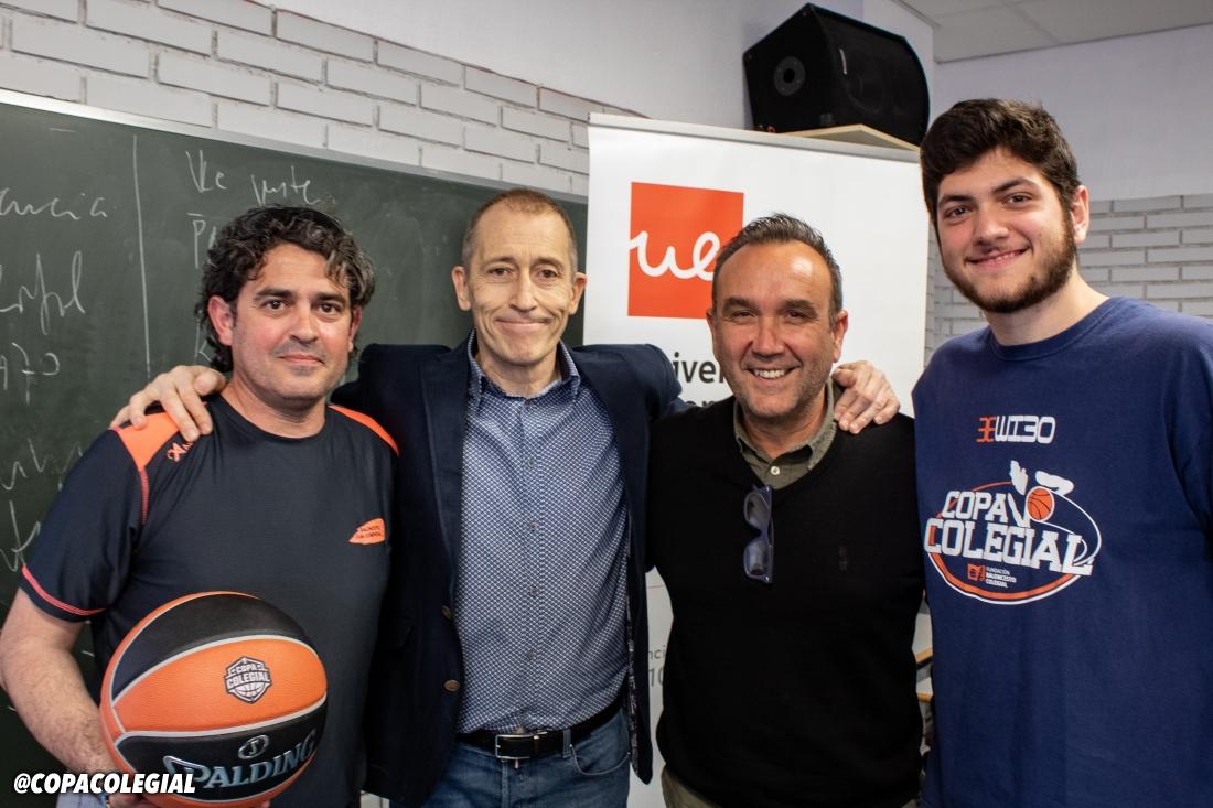 High School Experience y Talento Colegial con Joe Arlauckas y José Luis Llorente