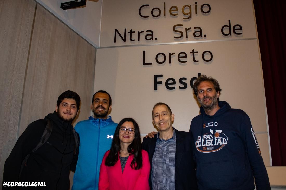 José Luis Llorente: Talento Colegial en Nuestra Señora de Loreto
