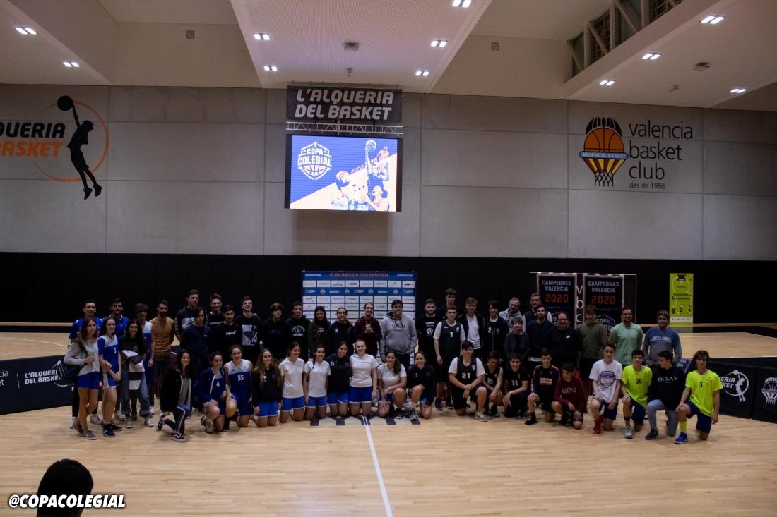 Presentación Copa Colegial Valencia 2020