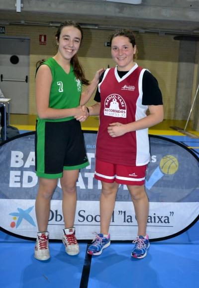 MVPs: María Fdez y Rebeca Pernía.