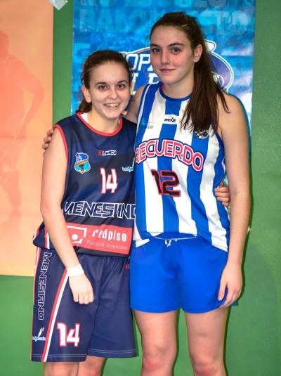 Amparo Sancho y Sara Alonso MVPS.