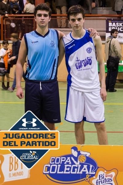 Javier Ortiz y Alberto Lucena, los mejores