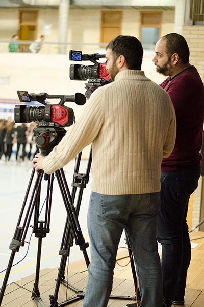 Las cámaras de Telemadrid no se perdieron detalle