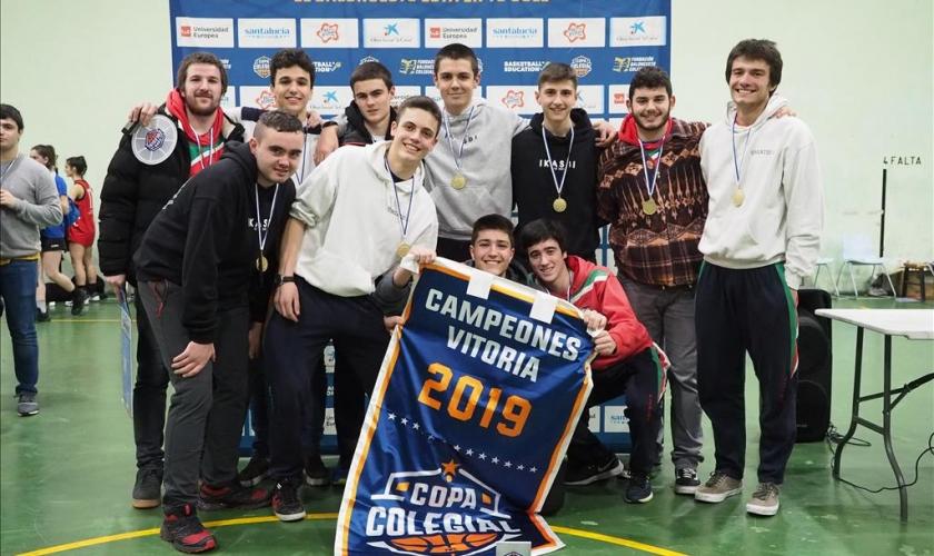 Olabide ganadores de la Copa Colegial