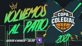 Volvemos al patio: este jueves, Gala de Presentación Copa Colegial 2021