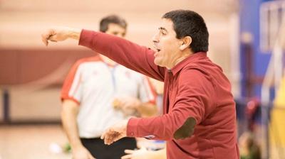 Francisco Martínez Rodrigo dando instrucciones