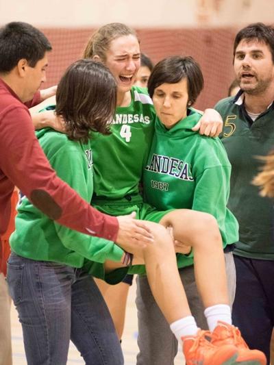 Eva Gómez sufrió una grave lesión. ¡Ánimo!