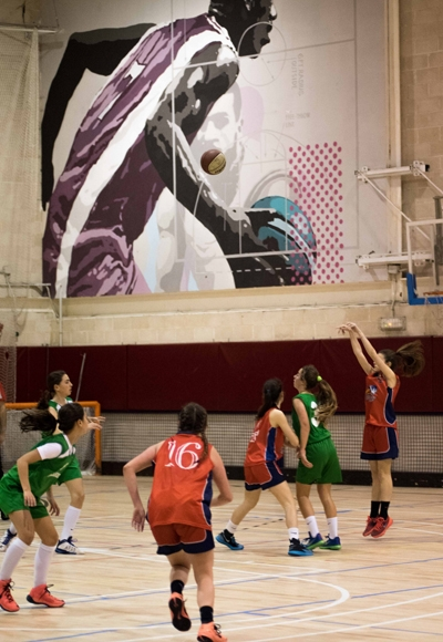 El basket, siempre presente en Alameda de Osuna