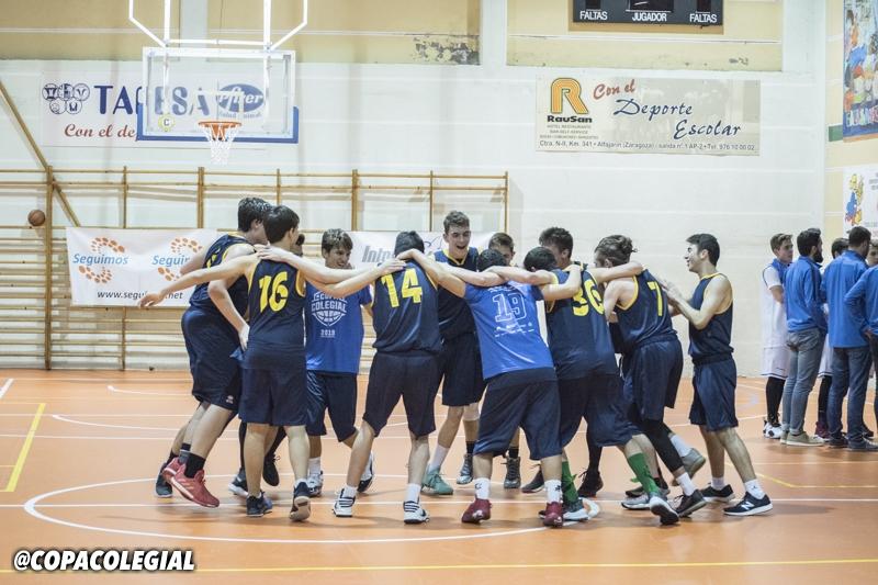 Montal Calasanz vs. SMP Marianistas (Masculino)