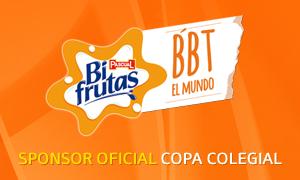 Bifrutas sponsor oficial Copa Colegial